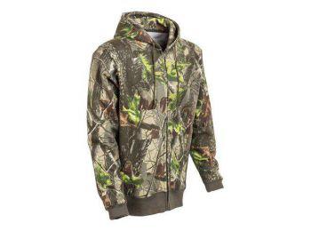 Tölgy mintás kapucnis pulóver (XXL)