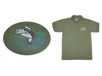 Vadászpóló galléros halas (M)