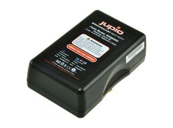 Gold Mount broadcast battery videókamera akkumulátor, LED Indicator, 7800mAh