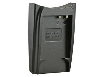 Jupio cserélhető akkumulátor-töltő foglalat Panasonic BCF10E, BCG10E kompatibilis
