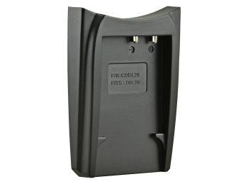 Jupio cserélhető akkumulátor-töltő foglalat Sanyo DB-L20