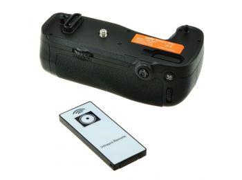 Nikon MB-D16, Nikon MB-D16H utángyártott portrémarkolat és távkioldó a Jupiotól, Nikon D750 fényk...
