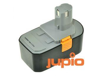 Ryobi 1400672 utángyártott szerszámgép akkumulátor, Ni-MH 18V a Jupiotól