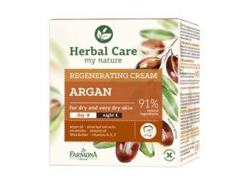 Farmona Herbal Care argán olaj regeneráló hatású arckrém, 50 ml