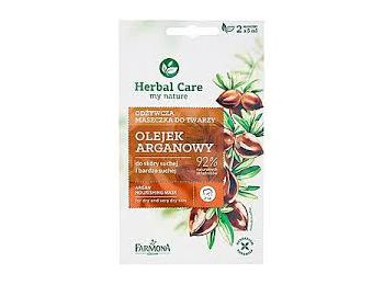 Farmona Herbal Care argán olajos tápláló hatású arcpakolás, 2 X 5 ml