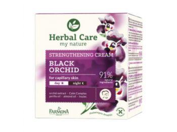 Farmona Herbal Care fekete orchidea nyugtató, érfal erősítő arckrém, 50 ml
