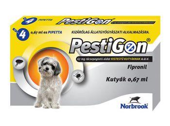 Pestigon SpotOn S cseppek kistestű kutyáknak 0,67 ml