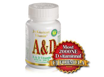 A & D vitamin -Jó közérzet-