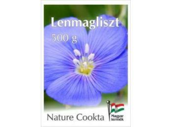 Lenmagliszt 500 gr. -Nature Cookta-