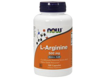 L-Arginine 500 mg - NOW-