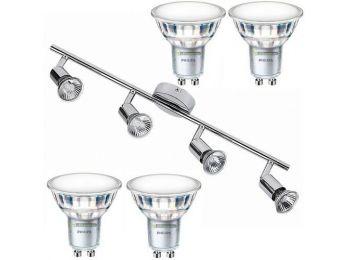 NORTON-4 lámpatest és 4 Philips 5W=50W 120° melegfehér L