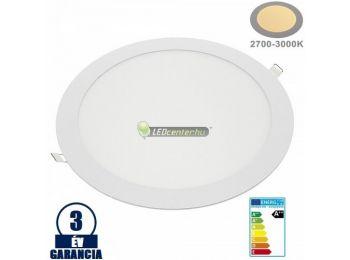 INTI 24W=192W kerek fehér LED mennyezeti lámpa melegfehér