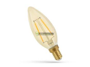 Spectrum RETRO 2W=25W E14 2300K LED gyertya, extra melegfeh�