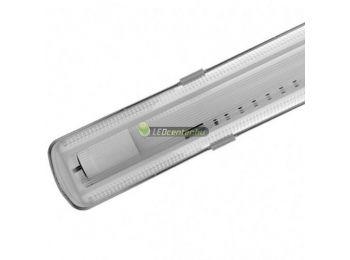 IP65 por-, páramentes szimpla LED fénycső armatúra, 60 cm