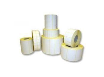 13x30mm PP gloss - fényes műanyag címke