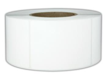 32x60mm PP gloss - fényes műanyag címke
