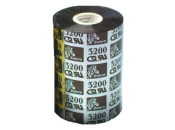 Zebra 3200 Premium Wax/Resin festékszalag 80mm x 450m - kö