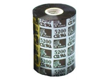 Zebra 3200 Premium Wax/Resin festékszalag 110mm x 450m - k�