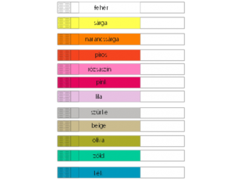 Mag ICS szintetikus papír karszalag EGYEDI NYOMATTAL - OLIV