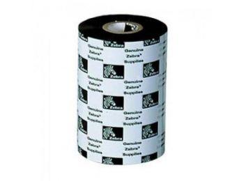 Zebra Premium white Resin festékszalag 110mm x 450m, FEHÉR