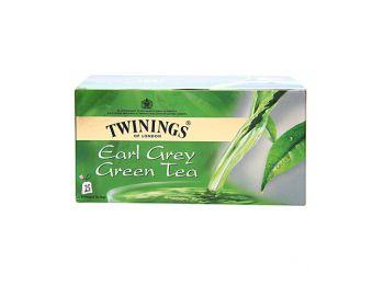 Twinings earl grey zöld tea 25filter