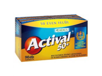 Béres actival 50+ filmtabletta 90db