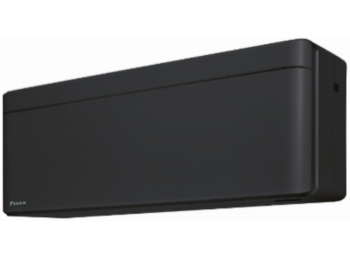 Daikin STYLISH 2,5 kW matt fekete inverteres oldalfali belt�