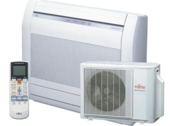 Fujitsu padlóra állítható 2,6 kW ASYG09LVCA/AOYG09LVCA