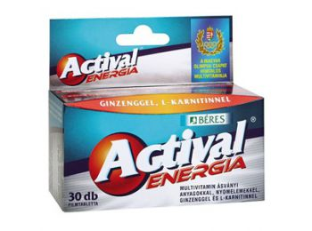Béres Actival Energia Tabletta 30db