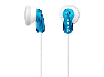 Fejhallgatók Sony MDR E9LP in-ear Kék,