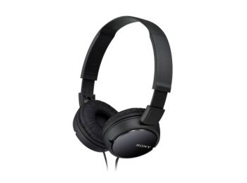 Fejhallgatók Sony MDR ZX110 Fekete