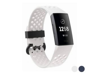 Pulzusmérő Fitbit Charge 3 SE OLED Bluetooth 4.0 GPS NFC Fehér