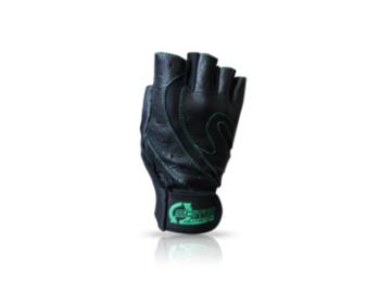 Kesztyű Scitec - Green Style férfi fekete, zöld L Scitec