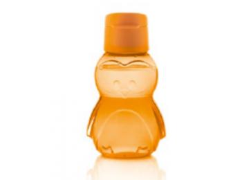 Pingvines gyerek öko palack 350 ml narancssárga, kipattint