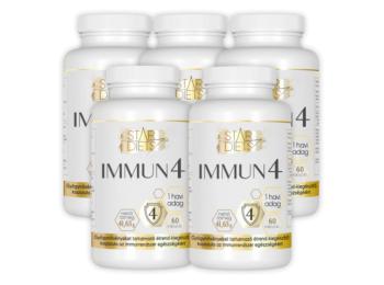 StarDiets Immun4 étrendkiegészítő 5x60 kapsz. nagy csal�