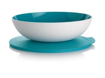 Allegra tál 1,5 L türkiz/fehér Tupperware