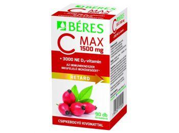 Béres c-vitamin 1500 mg retard + 3000NE D-vitamin tabletta 90db