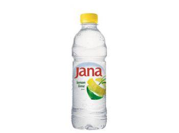 Ásványvíz, ízesített, JANA,  0,5 l, citrom-limetta (KHI250)