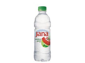 Ásványvíz, ízesített, JANA, 0,5 l, eper-guava (KHI254)