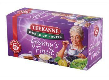 Gyümölcstea, 20x2,5 g, TEEKANNE Granny Finest, szilvás-fahéjas (KHK272)