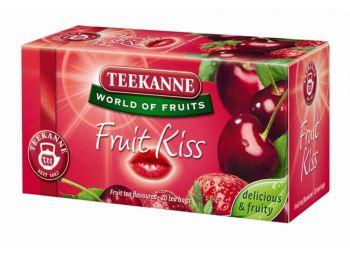 Gyümölcstea, 20x2,5 g, TEEKANNE Fruit kiss, eper-meggy (KHK321)