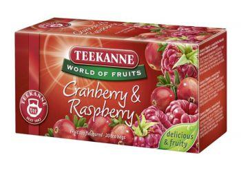 Gyümölcstea, 20x2,25 g, TEEKANNE Piros bogyók, áfonya-málna (KHK325)