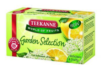 Gyümölcstea, 20x2,25 g, TEEKANNE Garden Selection, bodza-citrom (KHK482)
