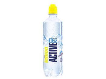 Ásványvíz, ízesített, szénsavmentes, ACTIVE O2, 0,75 l, citrom (KHI300)