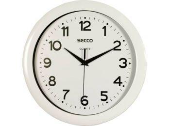 Falióra, 28,5 cm, SECCO, fehér (DFA008)