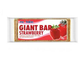 Zabszelet epres Giant Bar 90 g - Ma Baker