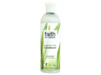 Illatmentes hajkondicionáló - Faith in Nature (400 ml)