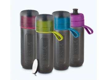 BRITA Fill&GO Active pink vízszűrő palack