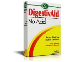 Lúgosító-savlekötő Digestivaid No Acid szopogatós tabl