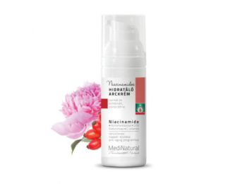 Ráncellenes, niacinamidos hidratáló arckrém 50 ml - Medi